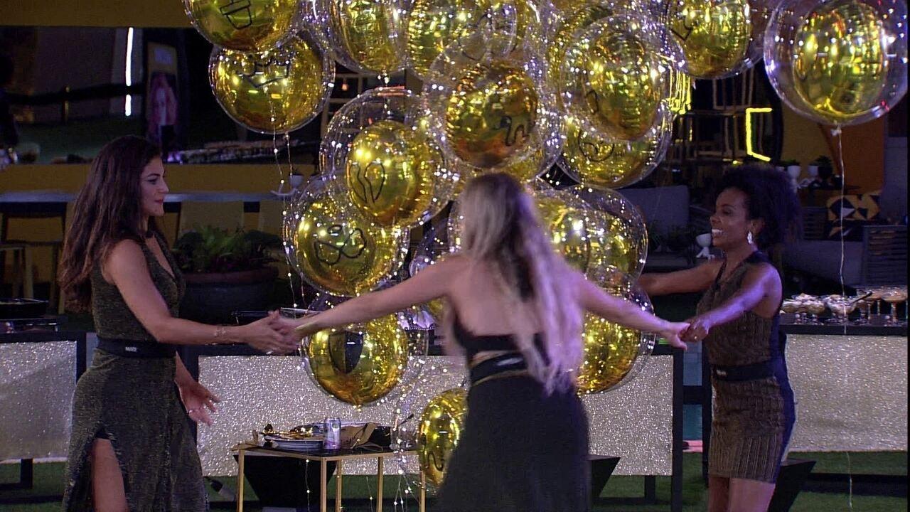 Mari, Thelma e Marcela comemoram: 'A gente é top 10'