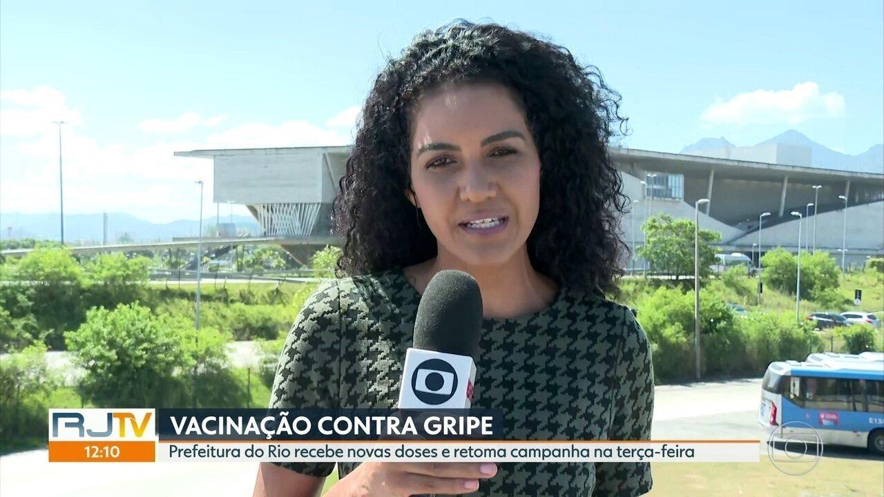 Prefeitura do Rio recebe novas doses e retoma campanha de vacinação na terça-feira (7)