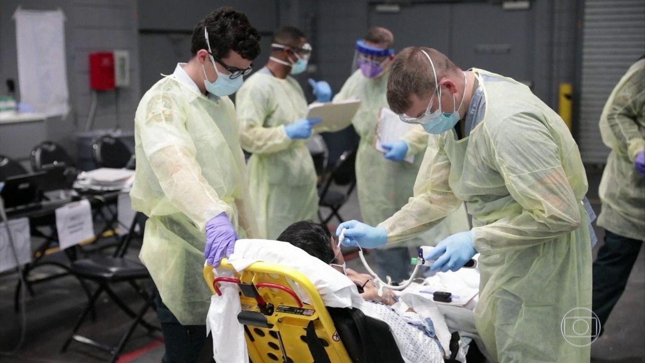 Estados Unidos devem passar pelo pico do coronavírus nesta semana