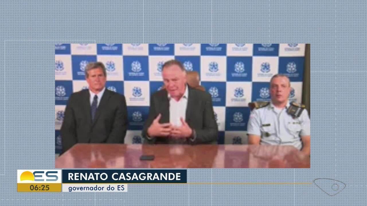 Novo secretário de Segurança Pública e novo comandante-geral da PM tomam posse do ES