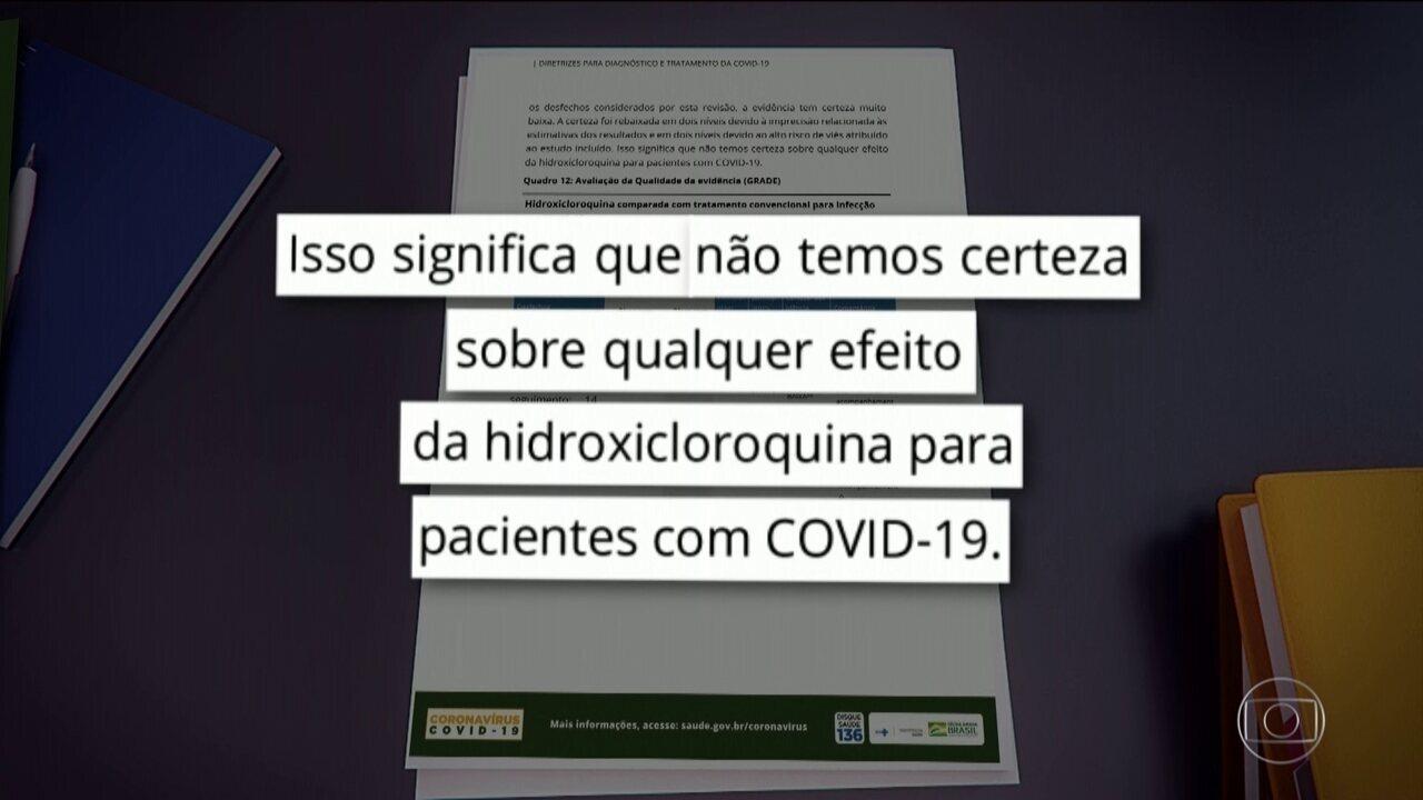 Em pronunciamento, Bolsonaro defende uso da cloroquina para tratamento do coronavírus
