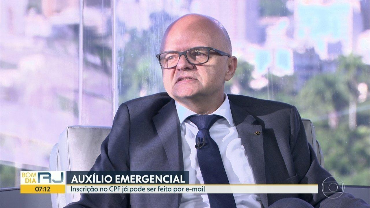 Superintendente da Receita Federal tira dúvidas sobre regularização de CPF