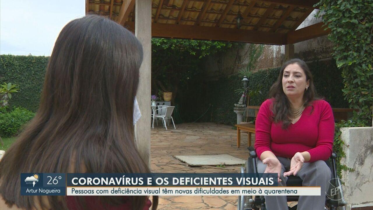 Pessoas com diversos tipos de deficiência relatam dificuldades para se proteger da Covid-19