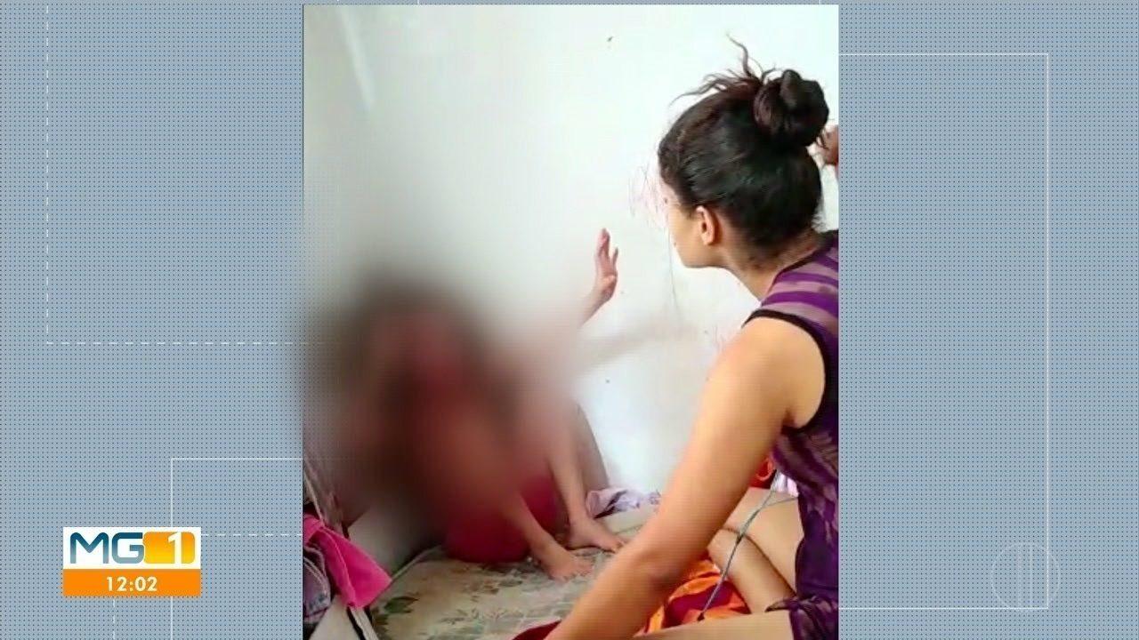 Após ser filmada agredindo filha, mulher é presa e encaminhada para presídio