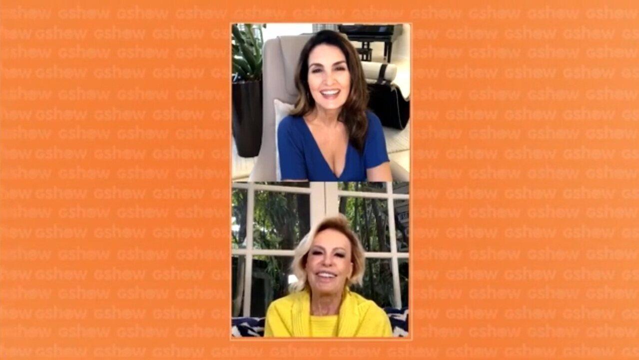 Fátima Bernardes e Ana Maria Braga comentam retorno às manhãs da Globo