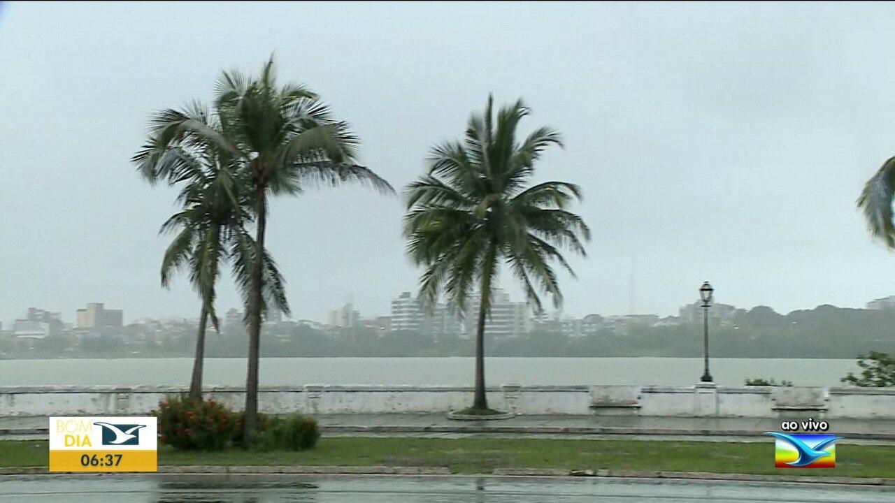 Veja como fica a previsão do tempo para esta terça-feira (21), no Maranhão