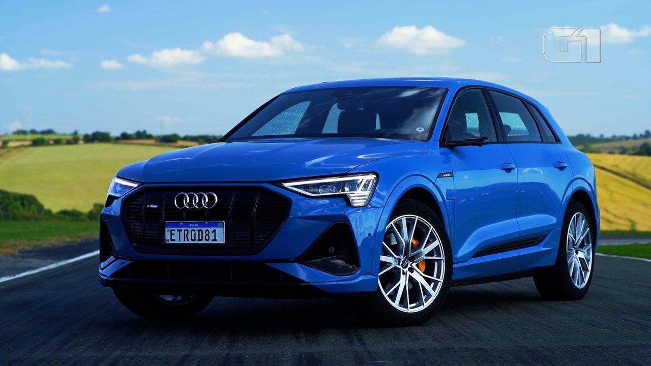 Conheça o E-tron, o carro elétrico sem retrovisor da Audi