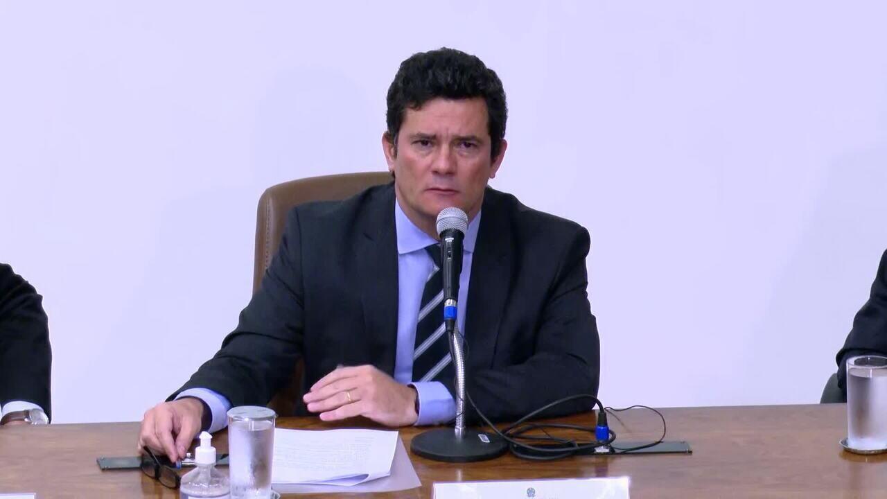'Nunca houve tanto combate à criminalidade', diz Sérgio Moro