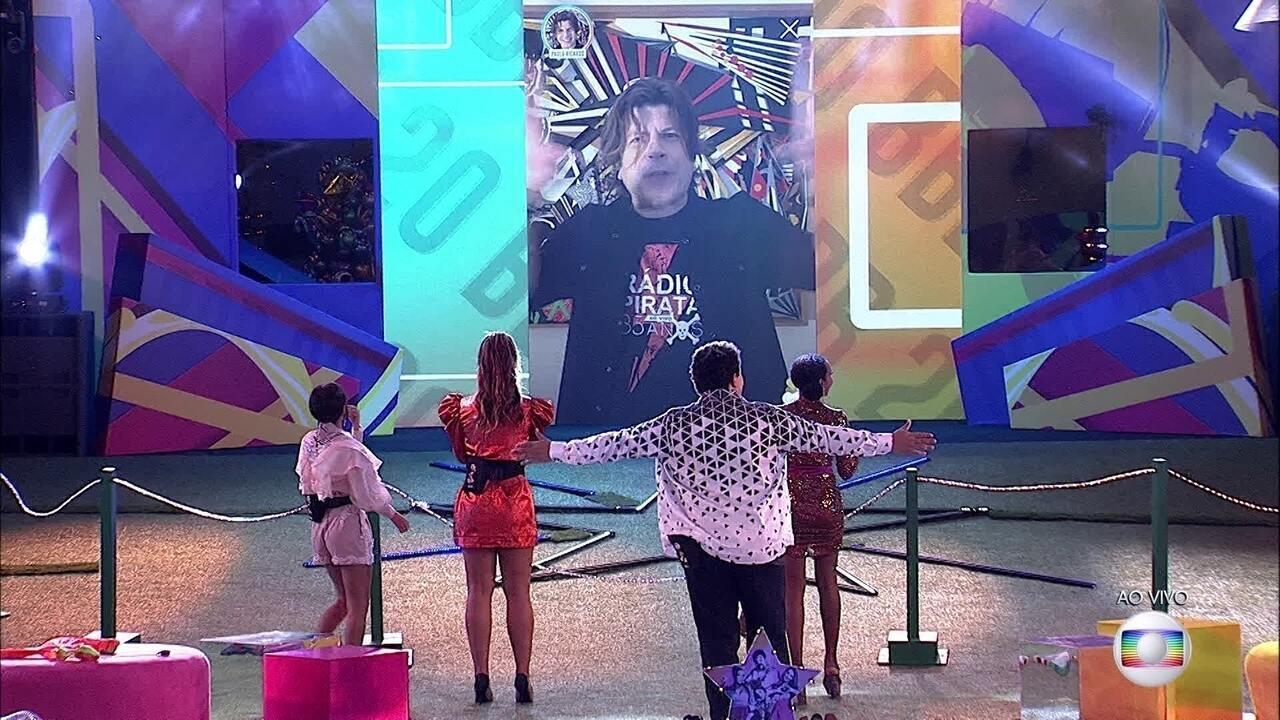 Última festa do BBB20 começa com show de Paulo Ricardo