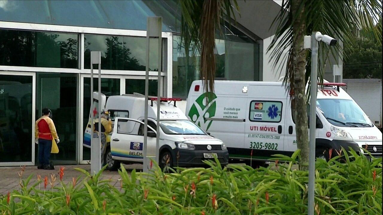 Coronavírus: Em Belém, não há leitos, médicos e profissionais de saúde