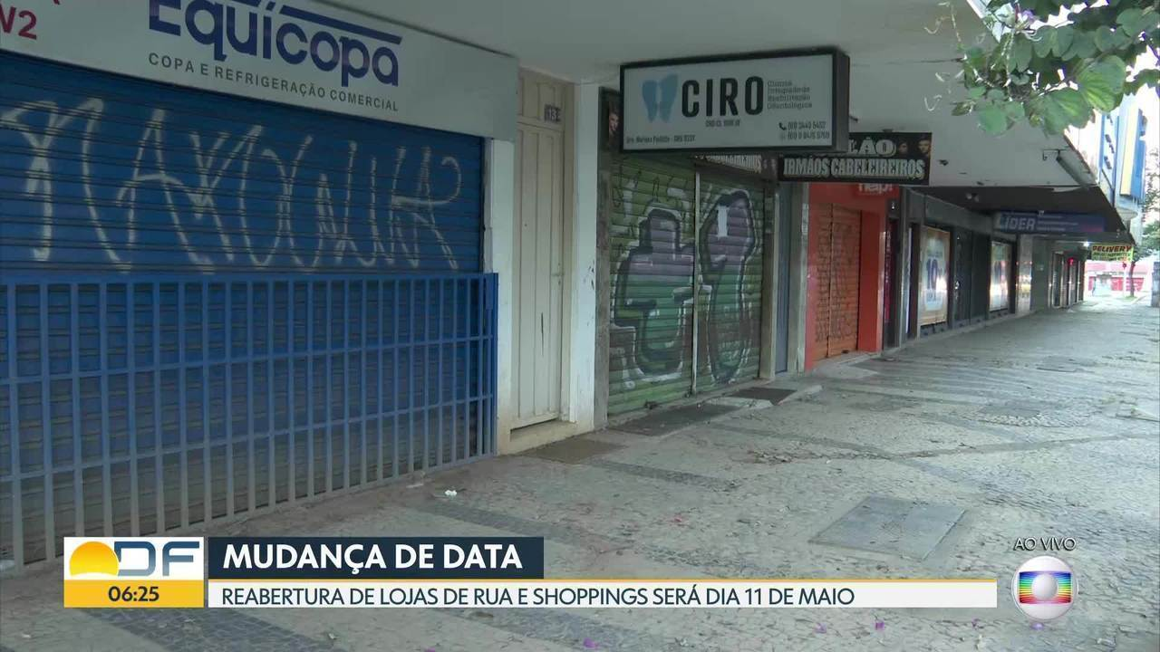 Ibaneis muda data de reabertura do comércio
