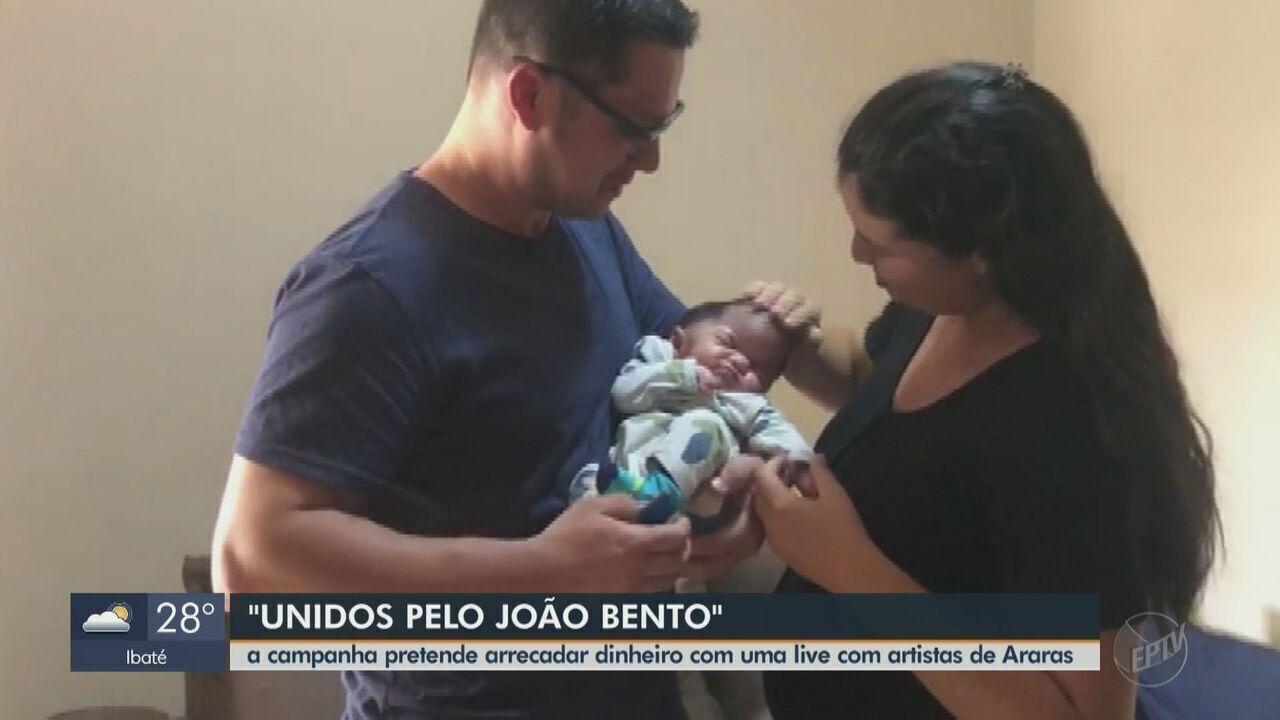 Cantores de Araras fazem live para ajudar em tratamento de bebê ...