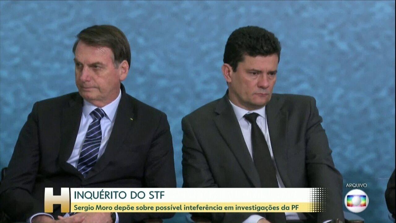 Sergio Moro presta depoimento à PF de Curitiba neste sábado (2)