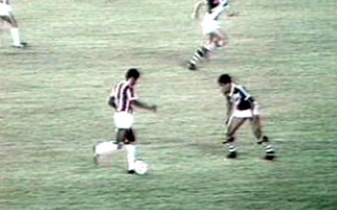 Em 1985, Bangu vence o Vasco por 3 a 1 pela Taça Ouro