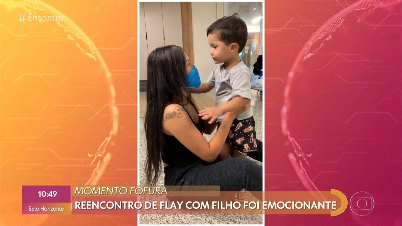 Flay conta que maior desafio no BBB foi ficar longe do filho