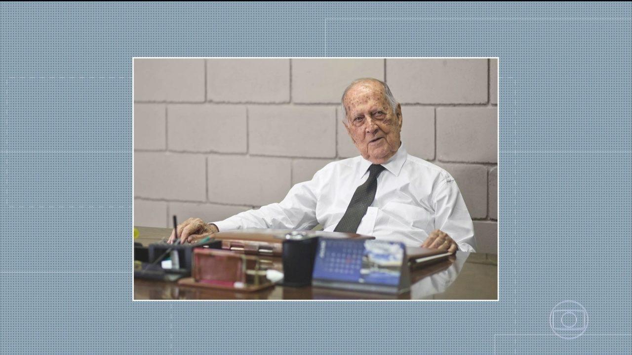 Empresário Raymundo da Fonte morre aos 99 anos de Covid-19