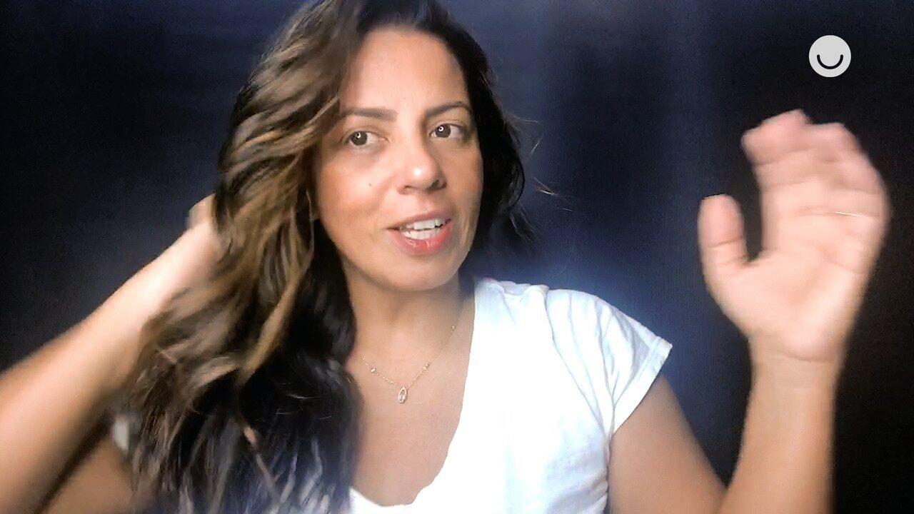 Fique em Casa: caracterizadora da Globo ensina como pintar a raiz e hidratar os cabelos