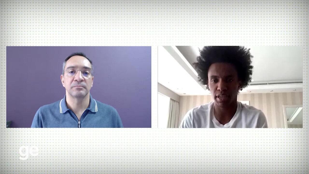 Willian diz que pretende ficar na Europa, mas que o Corinthians é prioridade no Brasil