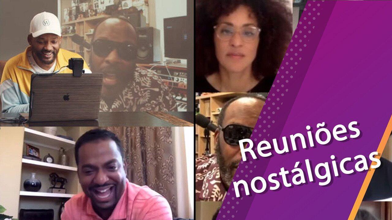 Os reencontros nostálgicos de elencos durante a quarentena