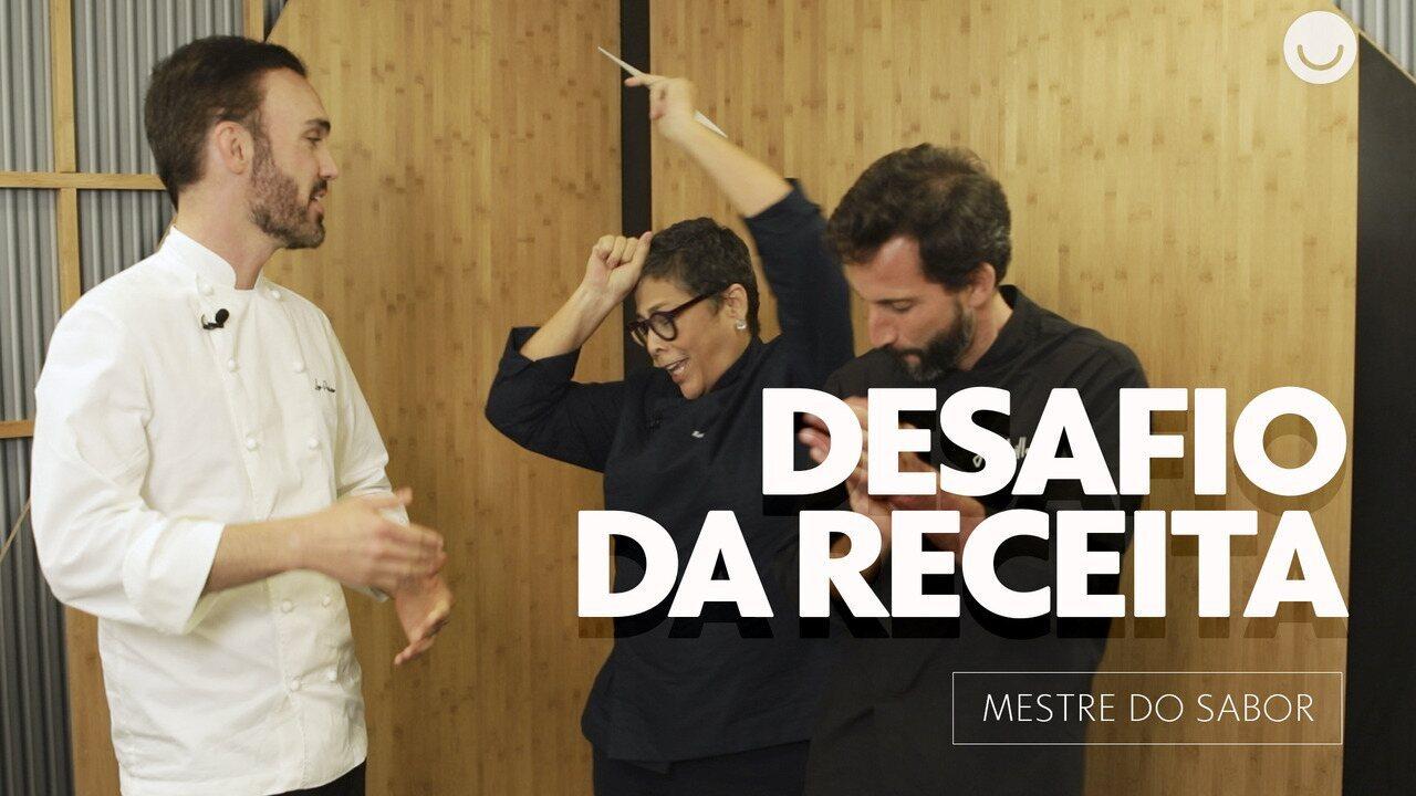 Mestres do Sabor aceitam desafio da receita sem ingrediente