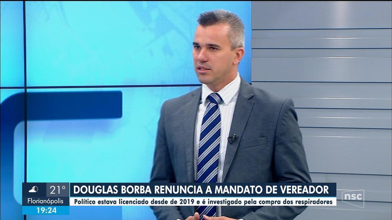 Ex-secretario da Casa Civil Douglas Borba renuncia a mandato de vereador