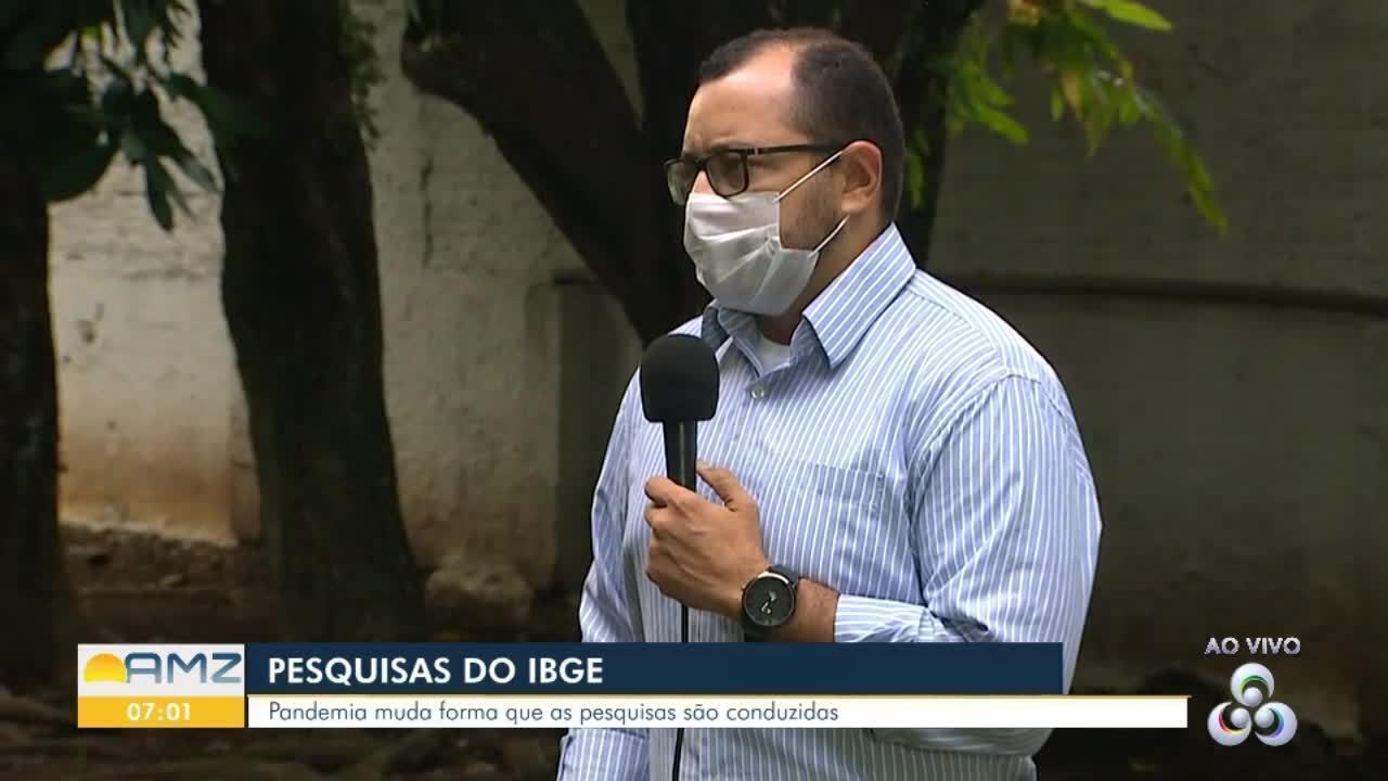 IBGE continua fazendo pesquisas em meio a pandemia