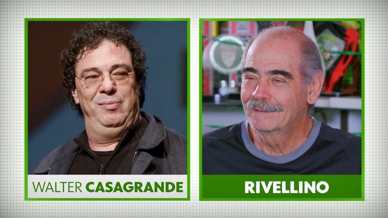 """Rivellino lembra Copa """"armada"""" de 78 e lamenta chuva na Invasão Corintiana: """"Sem condição"""""""