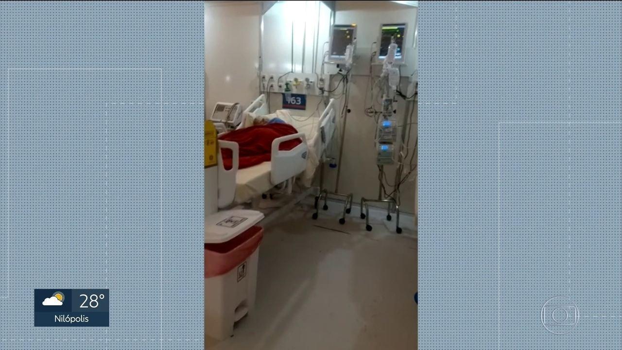 Funcionários denunciam falta de medicamentos e de organização no Hospital do Maracanã