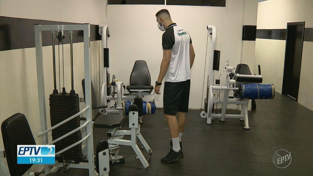 Jogadores do XV de Piracicaba treinam em casa pra tentar manter o bom desempenho