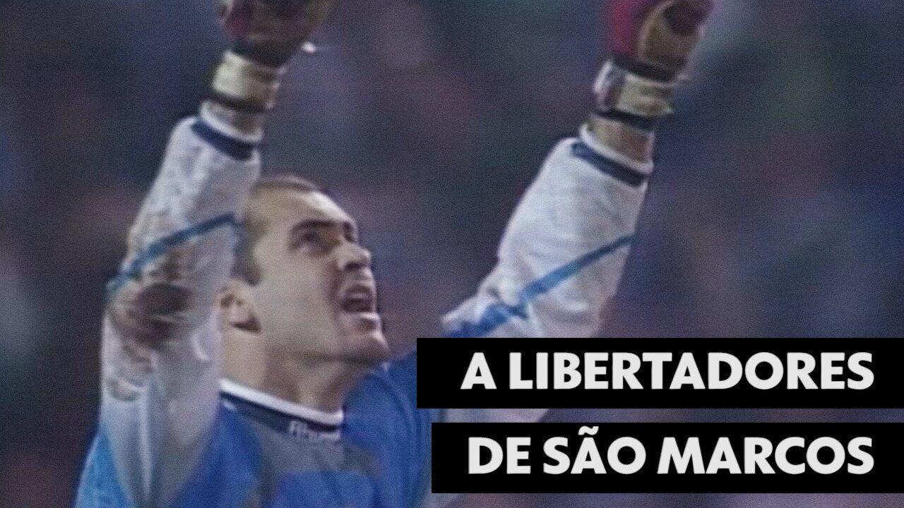 Em 1999, Marcos vai de reserva a melhor jogador da Libertadores no título do Palmeiras