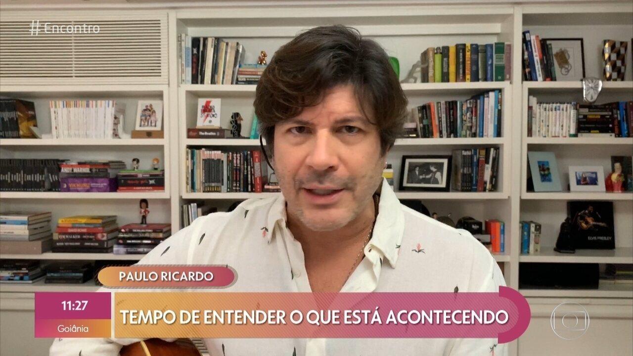 Paulo Ricardo canta 'Tempo de Espera'