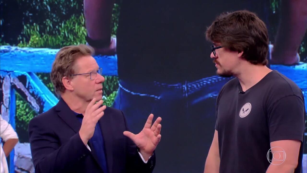 Renzo Garibaldi conversa com Claude sobre a maturação das carnes