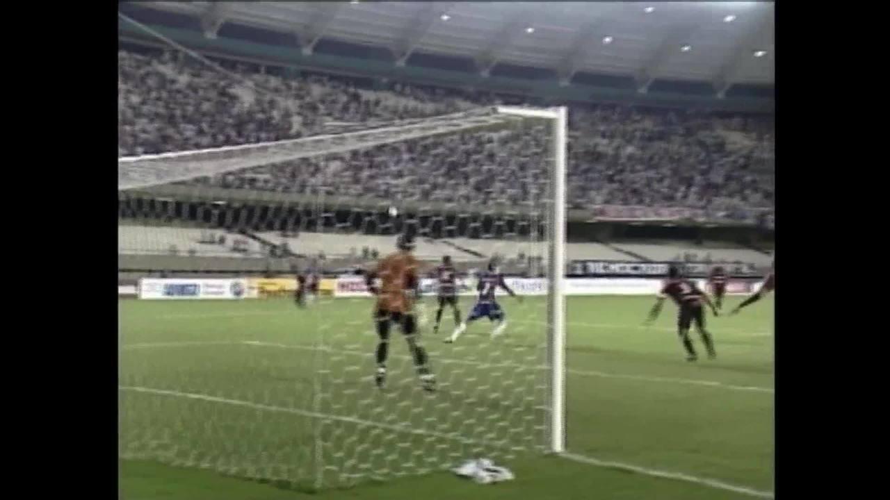 Rinaldo empata no fim, Fortaleza vence nos pênaltis e conquista primeiro turno do Estadual