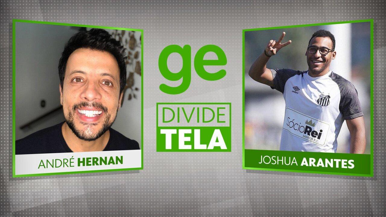GE divide tela com Joshua Arantes, filho de Pelé
