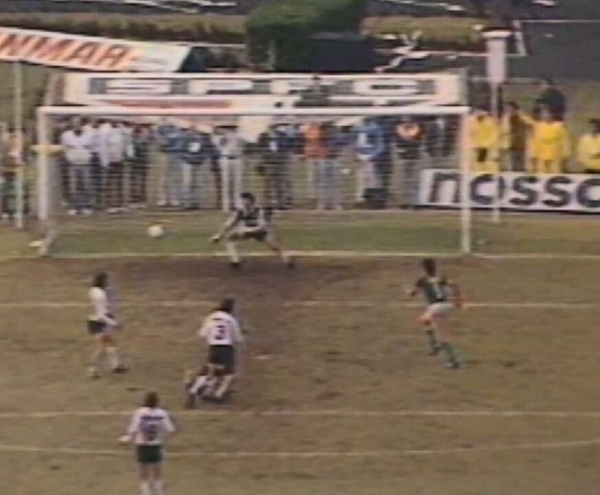Gol de Neto - Corinthians x Guarani, 1988