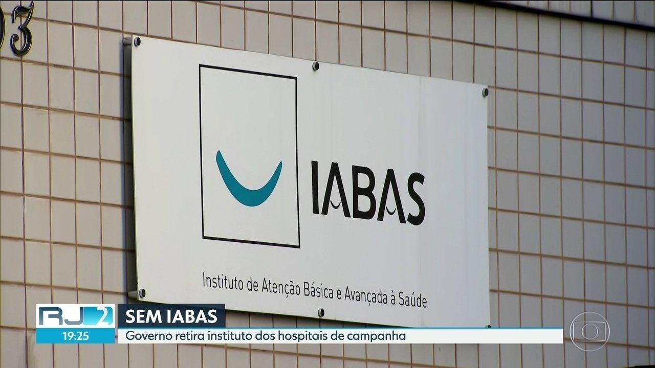 Governo rompe contrato com o Iabas e retira instituto dos hospitais de campanha