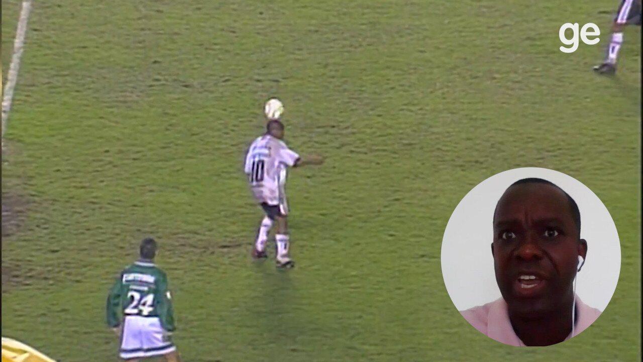 PC de Oliveira revisita arbitragem de Corinthians x Palmeiras das embaixadinhas de Edilson