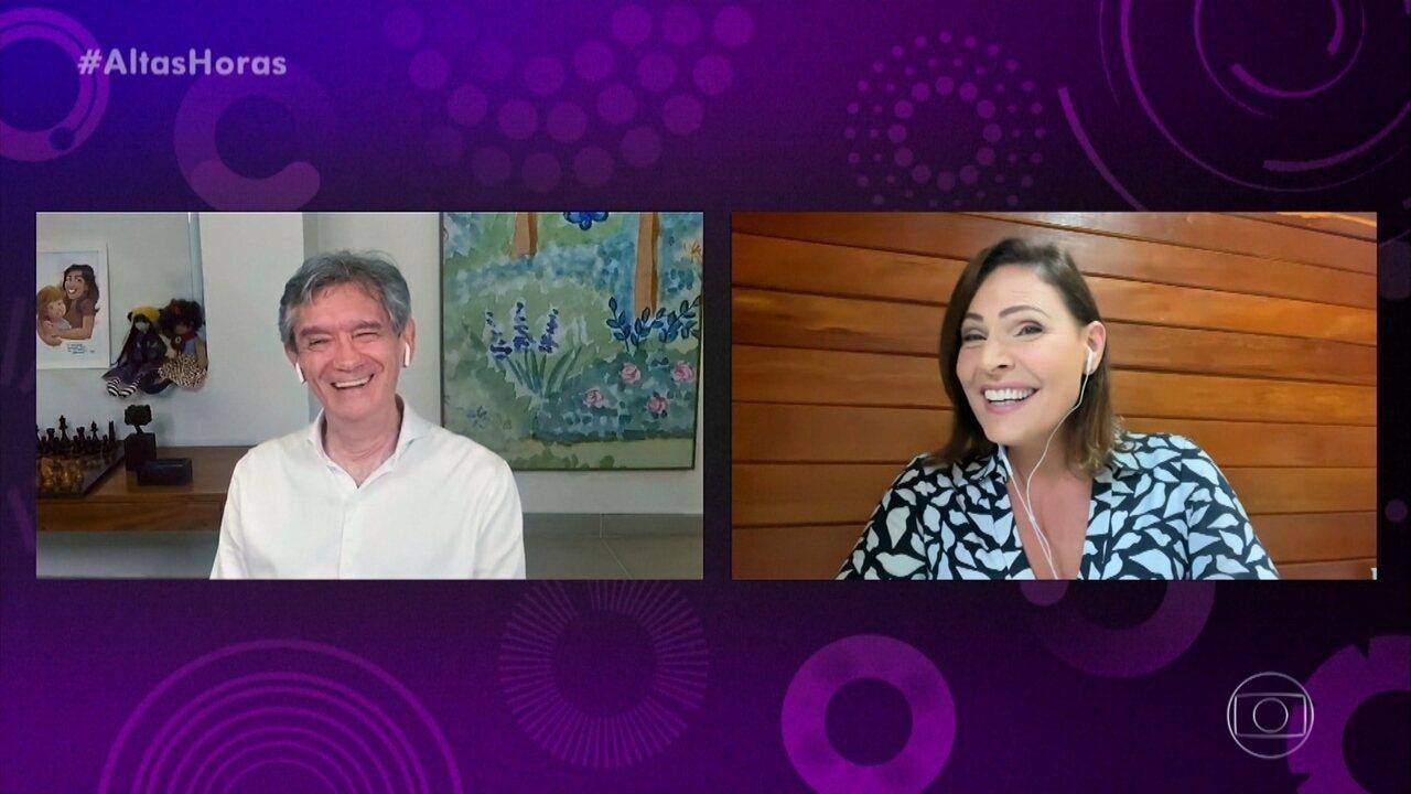 Laura Muller fala sobre sexo na quarentena