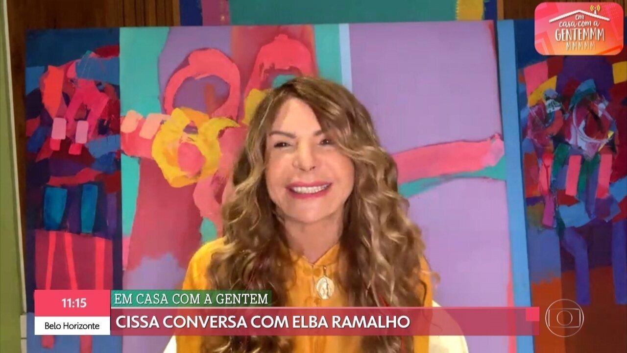 Elba Ramalho fala sobre festa em Campina Grande e Caruaru