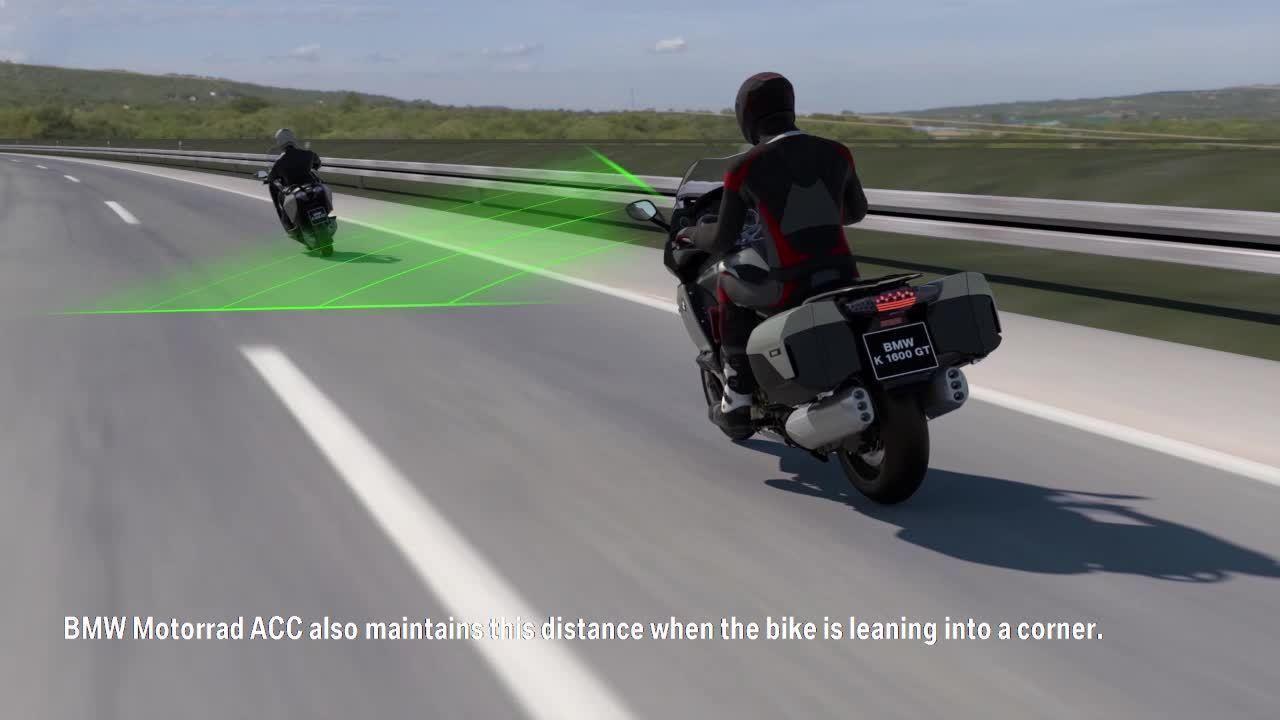 BMW terá motos com sistema adaptativo de velocidade