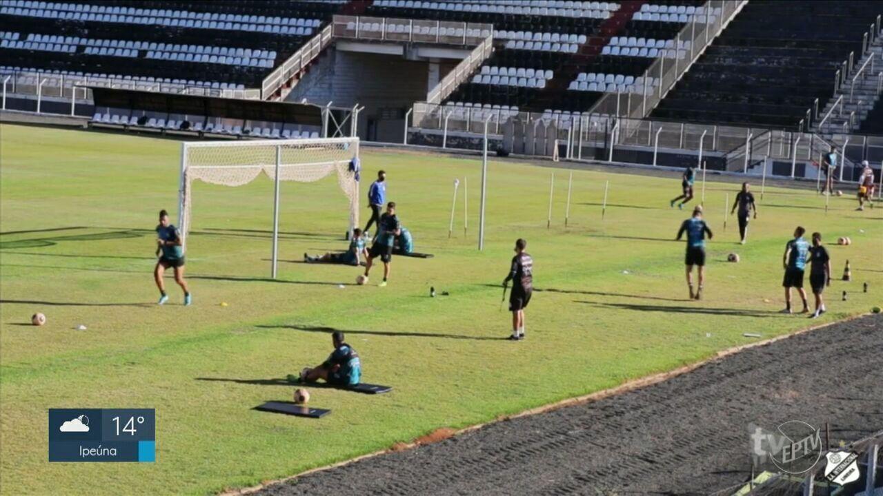 Com Limeira na fase vermelha, MP pede suspensão dos treinos presenciais da Inter