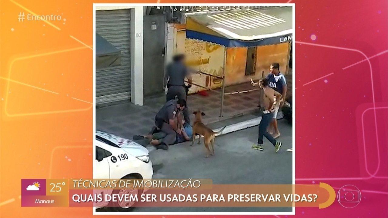 Violência policial: abordagens violentas se repetem