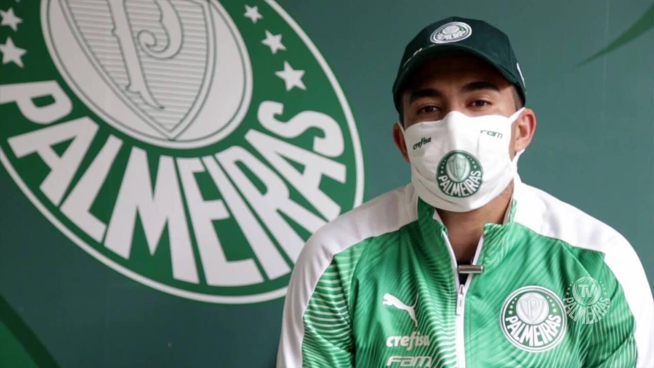 Dudu se despede da torcida e promete encerrar a carreira no Palmeiras