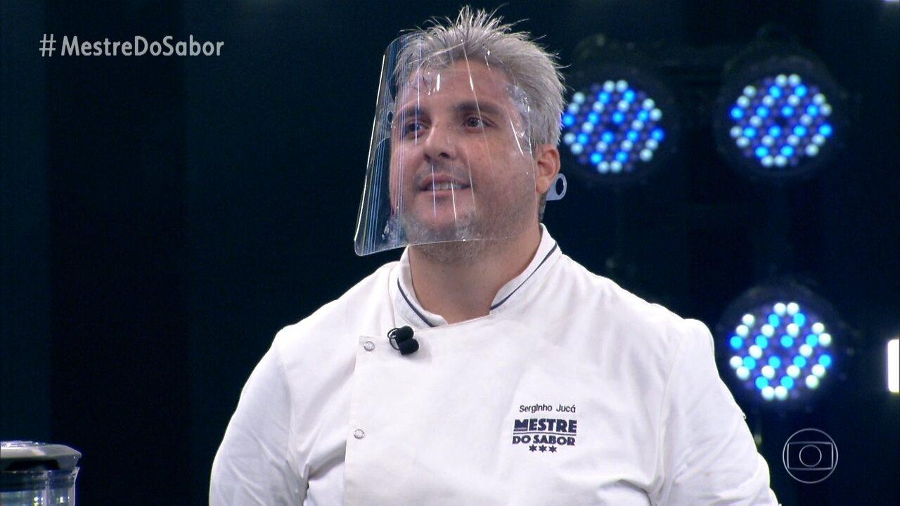 Serginho apresenta o prato 'Carne de Panela'