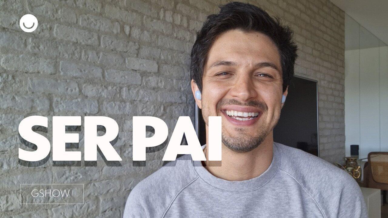 Romulo Estrela conta os desafios e alegrias de ser pai
