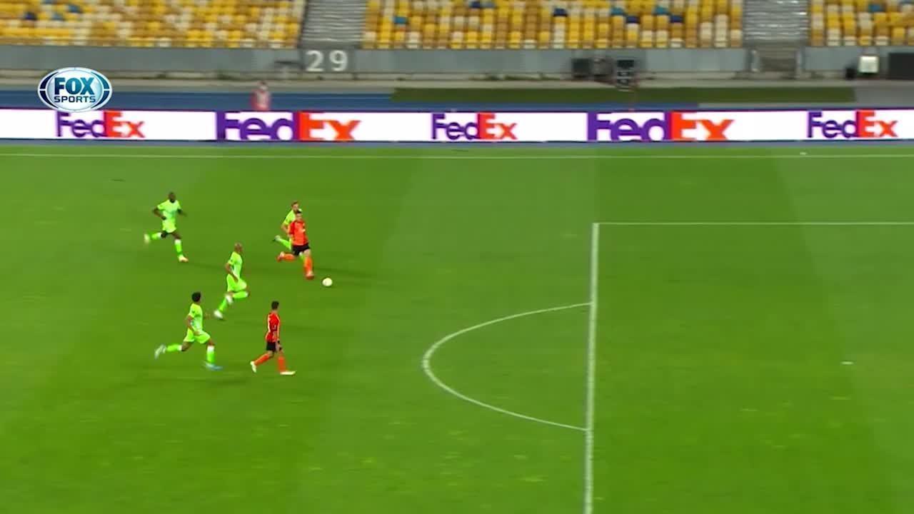 Os gols de Shakhtar Donetsk 3 x 0 Wolfsburg pela Liga Europa