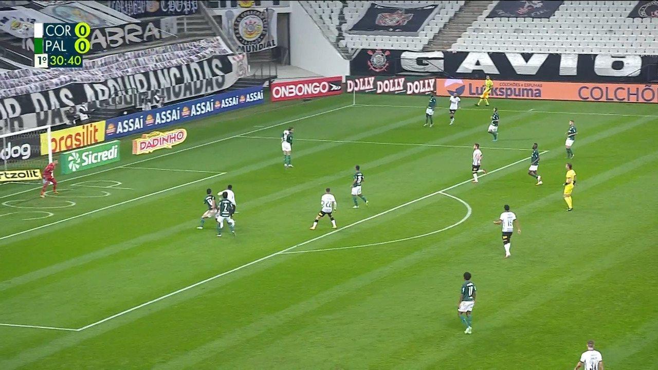 Melhores momentos de Corinthians 0 x 0 Palmeiras pela final do Paulistão 2020