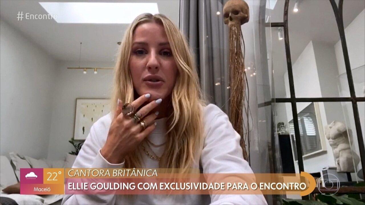 Ellie Goulding com exclusividade para o 'Encontro'