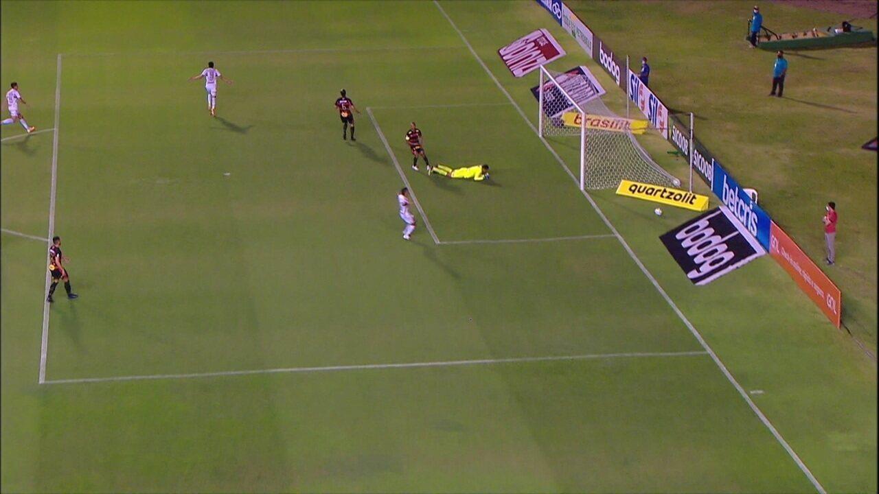 Melhores momentos de Sport 0 x 1 São Paulo pela 5ª rodada do Campeonato Brasileiro