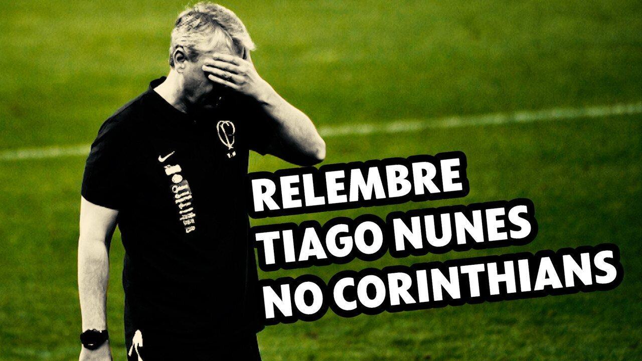 Promessa de mudança de estilo e muita pressão: A trajetória de Tiago Nunes no Corinthians
